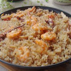 海鲜糯米饭
