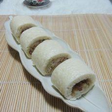 香菇干贝腊肠糯米卷