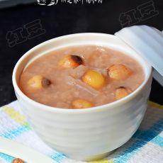 湘莲银耳糯米粥--白露养生粥