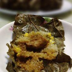 荷香糯米排骨的做法