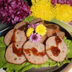 猪肉糯米藕