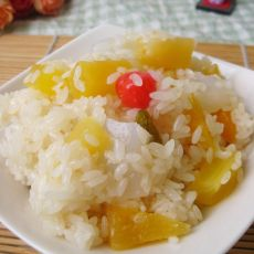 什锦水果糯米饭