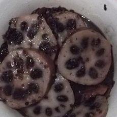 血糯蜜汁藕