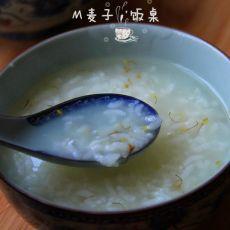 桂花蜂蜜糯米粥