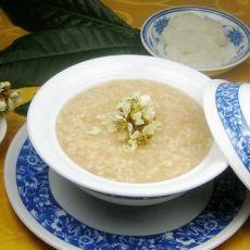 枇杷花糯米粥