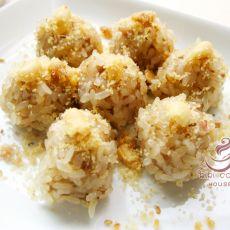 花生糖糯米肉丸