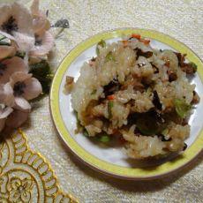 五彩糯米饭