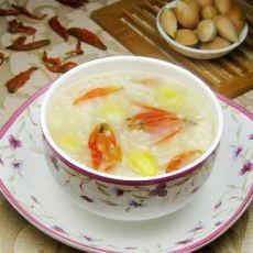 百合花白果糯米粥