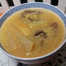 红枣雪梨小米粥