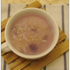 紫薯小米粥的做法