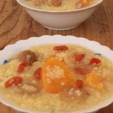栗子红薯小米粥的做法