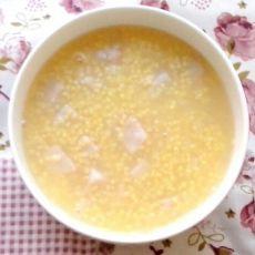小米芋头粥
