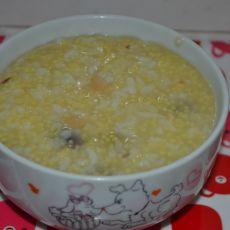 蜜豆粥的做法