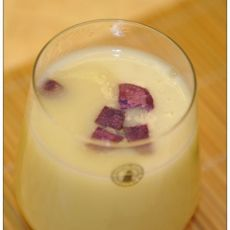 紫薯杂粮米糊的做法