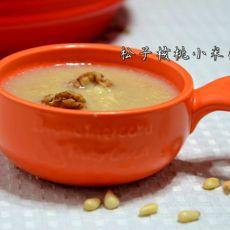 松子核桃小米粥
