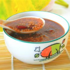 红芸豆小米粥