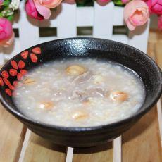 鲜莲瘦肉二米粥