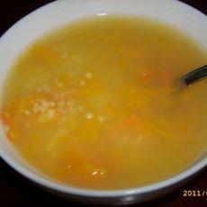 小米窝瓜粥
