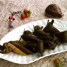麦仁小米红豆粽