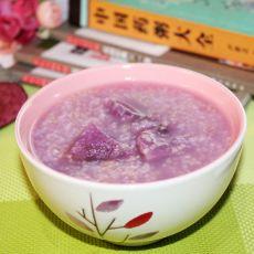 紫山药二米粥