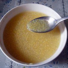 棒渣小米粥