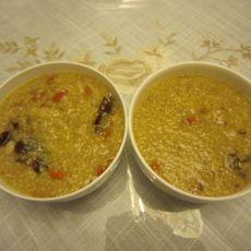 红枣松子小米粥