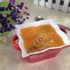 南瓜核桃粥