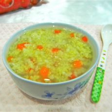 胡萝卜二米粥