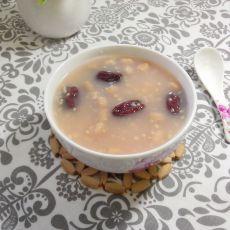 花生红枣小米粥