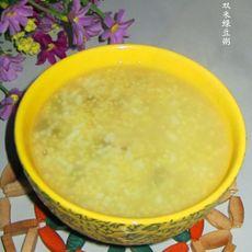 双米绿豆粥