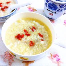 银耳小米粥的做法