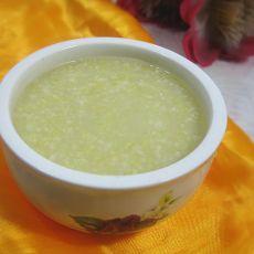 小米玉米碴子粥的做法