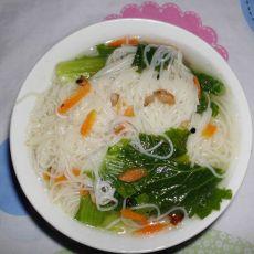 小白菜挂面汤