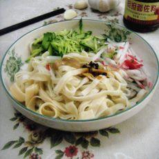 花椒油麻酱面的做法