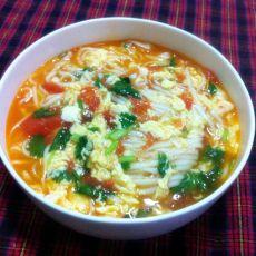西红柿鸡蛋面条