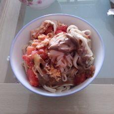 西红柿拌凉面