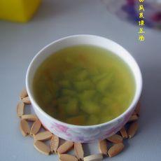 西瓜皮绿豆汤