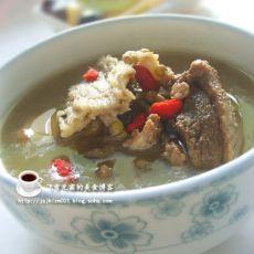绿豆老鸭汤