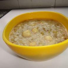 绿豆莲子粥
