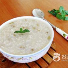 清凉绿豆粥的做法