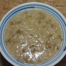 绿豆大米粥的做法