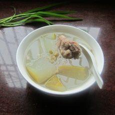 冬瓜绿豆猪骨汤的做法
