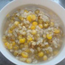 玉米绿豆粥