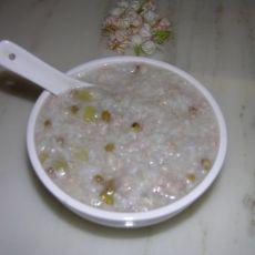 绿豆丝瓜粥