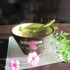 绿豆臭草米糊