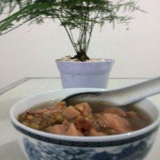 莲藕绿豆粥