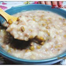 绿豆疙瘩汤的做法