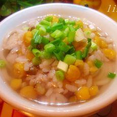 玉米杂面饭