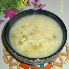 燕麦绿豆粥