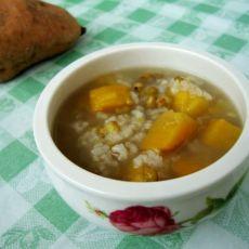 绿豆红薯粥